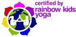 Rainbow Kids Yoga logo